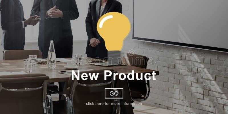 Conceito moderno atual do desenvolvimento de produtos novo fotos de stock
