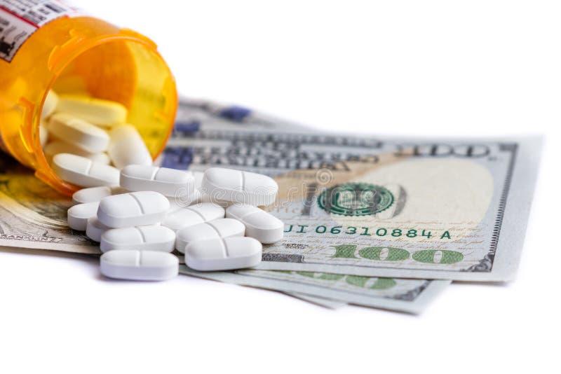 Conceito para despesas médicas foto de stock