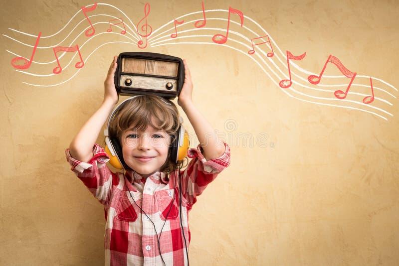 Conceito retro da música imagem de stock royalty free