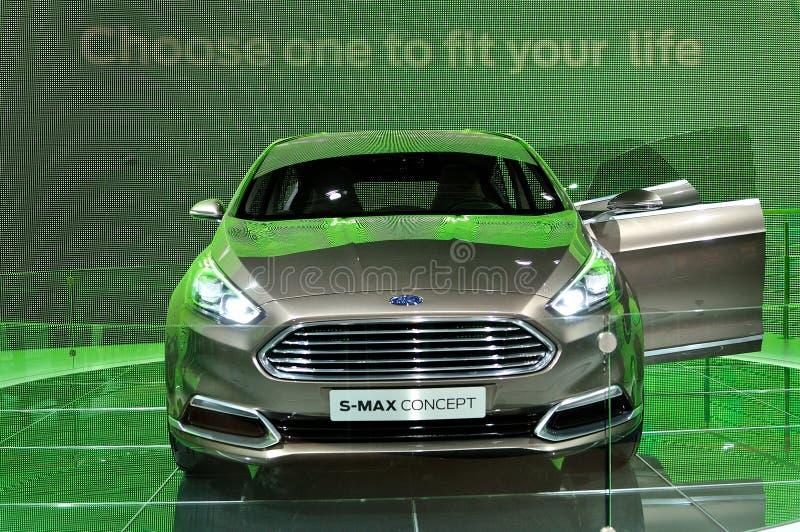 Conceito S-máximo de Ford em IAA 2013 imagem de stock
