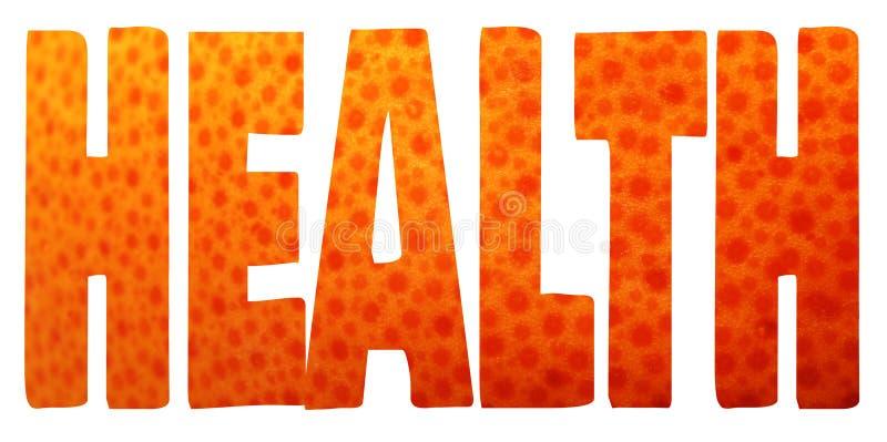 Conceito saudável comer ilustração do vetor