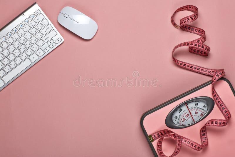 Conceito saudável do estilo de vida slimming foto de stock