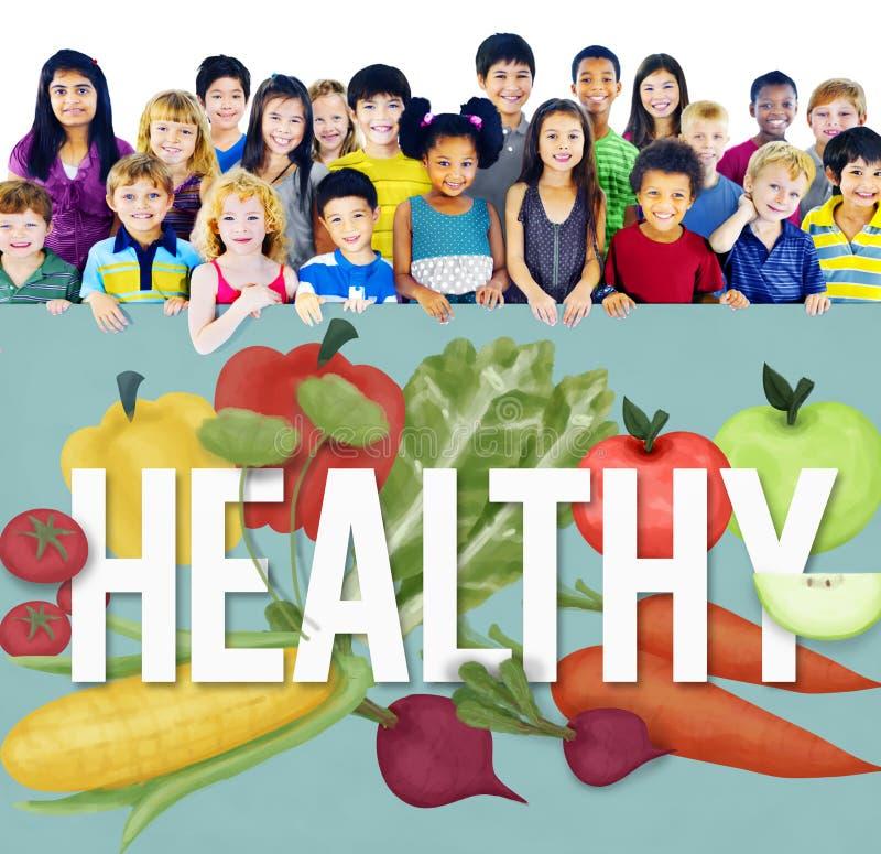 Conceito saudável do exame da nutrição do estilo de vida do exame médico completo foto de stock