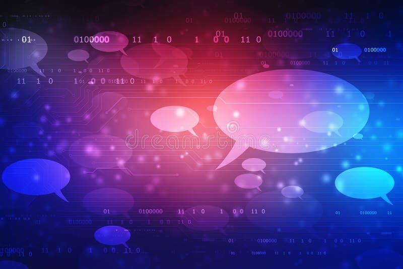 Conceito social da rede, uma comunica??o, conceito do bate-papo fotografia de stock royalty free