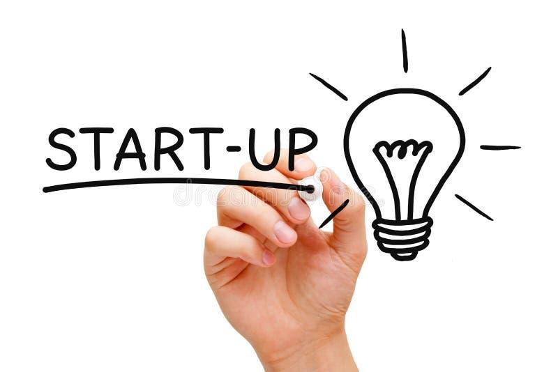 Conceito Start-Up fotografia de stock