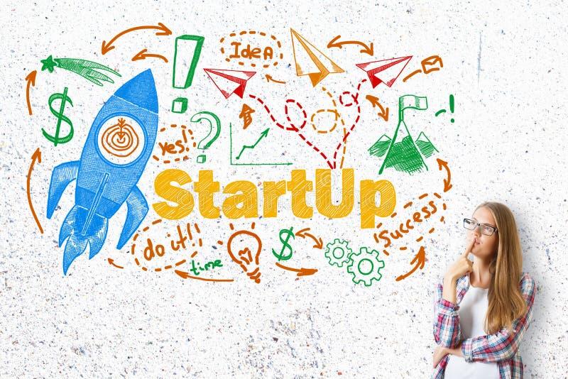 Conceito Startup fotos de stock