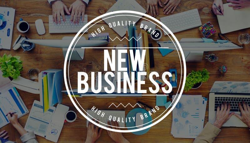 Conceito Startup do planeamento do empreendimento novo do negócio imagens de stock