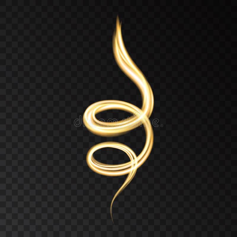 Conceito superior do cosmético dos cuidados com a pele da solução do colagênio do ouro ilustração royalty free