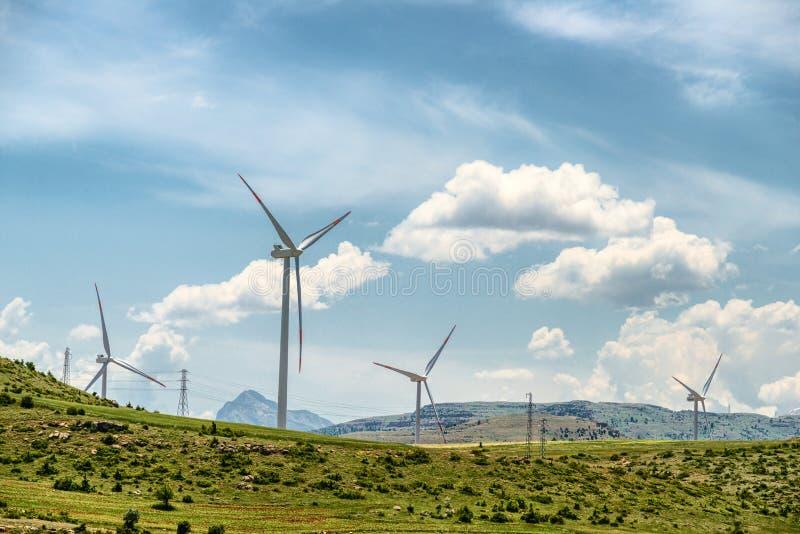 Conceito verde da energia foto de stock