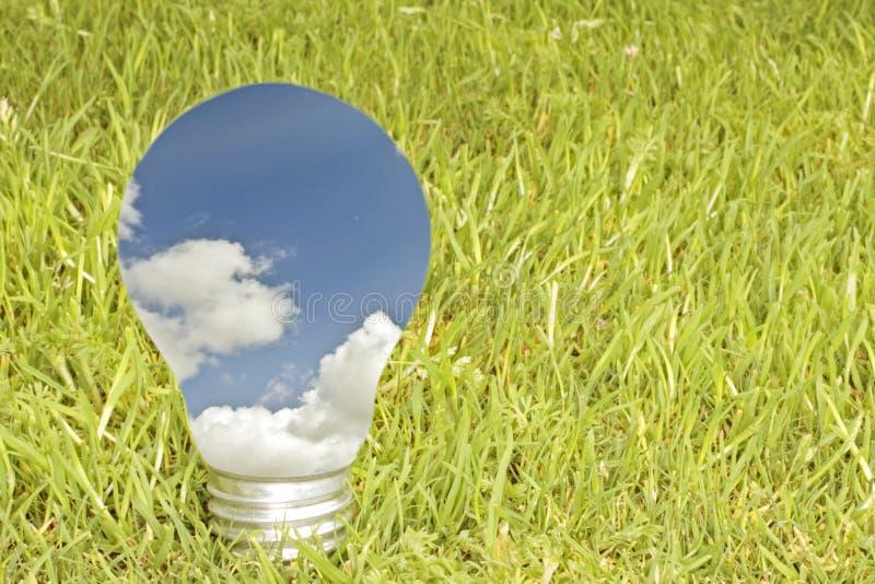 Conceito verde da energia imagem de stock