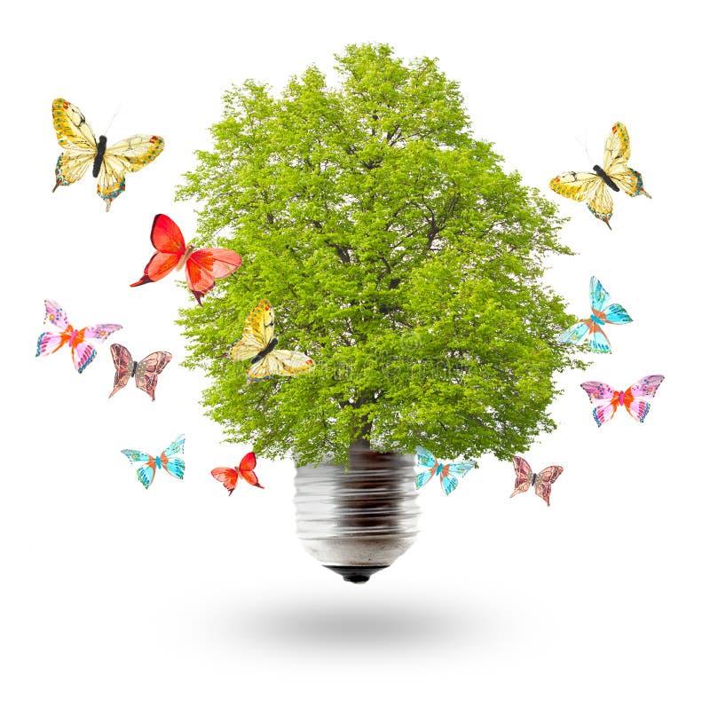 Conceito verde da energia imagens de stock