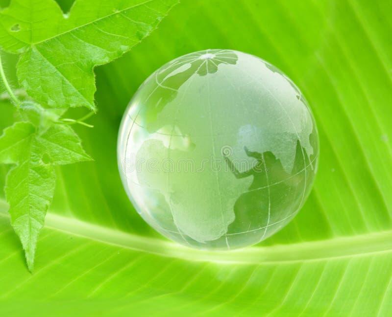 Conceito verde do mundo imagens de stock