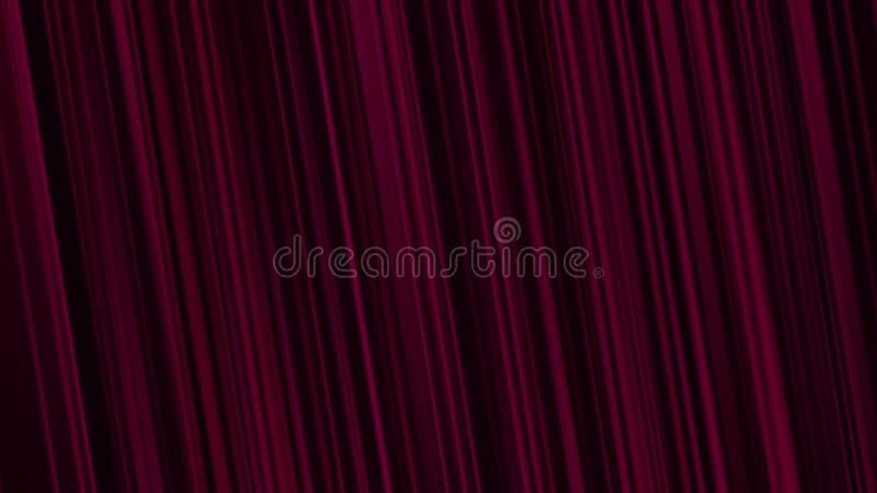 conceito vermelho claro do fundo das listras ilustração do vetor