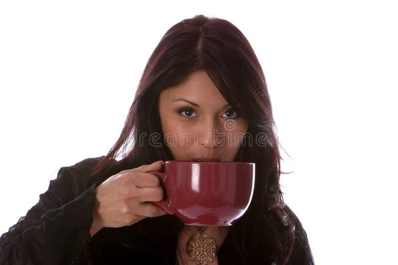 Conceitos do café, do latte e dos Cocos imagem de stock
