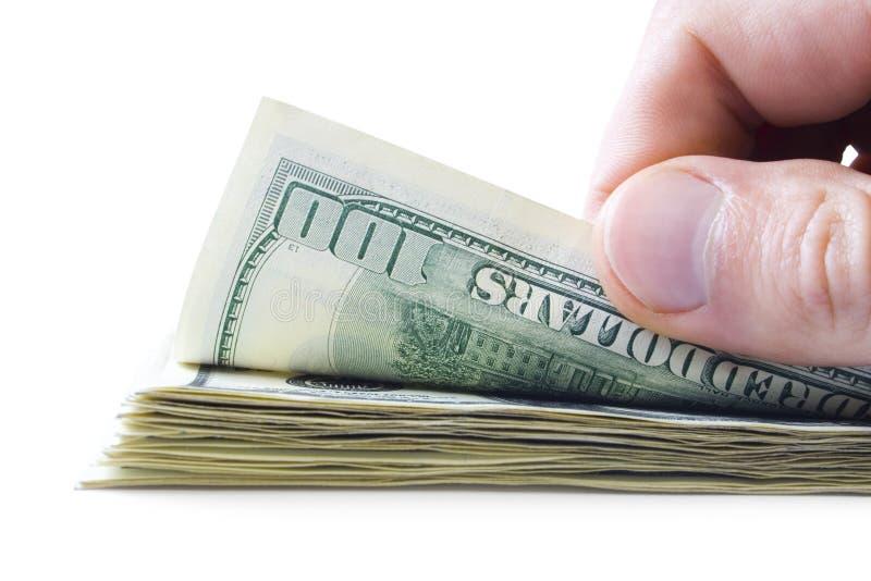 Conceitos do dinheiro fotos de stock royalty free