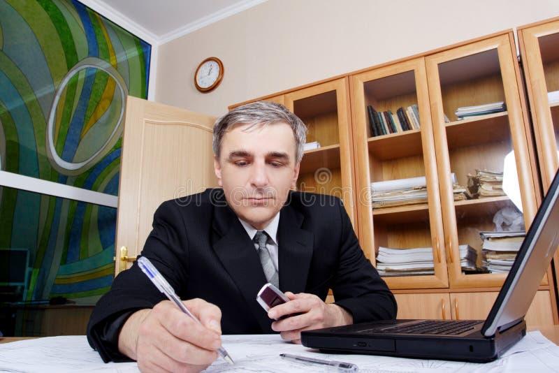 Concentraat 2 stock afbeelding