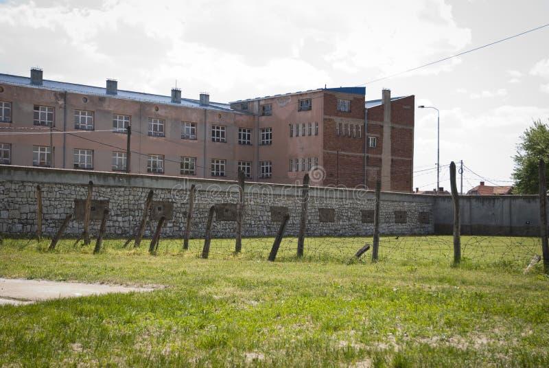 Concentratiekamp in NOS, Servië stock foto's