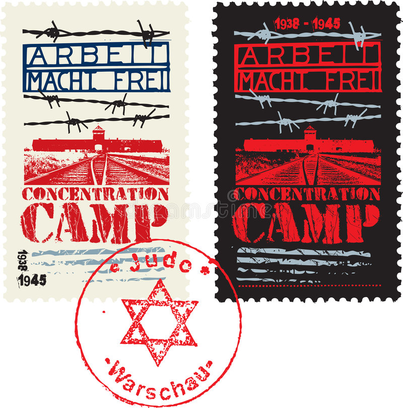 Free Concentration Camp Design Royalty Free Stock Images - 8649659