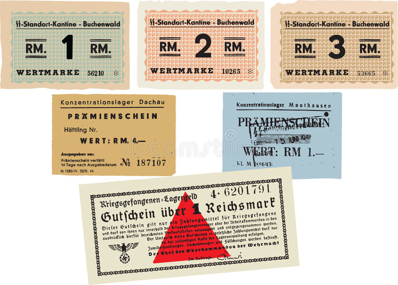 Download Concentration Camp Money editorial image. Image of control - 8643840