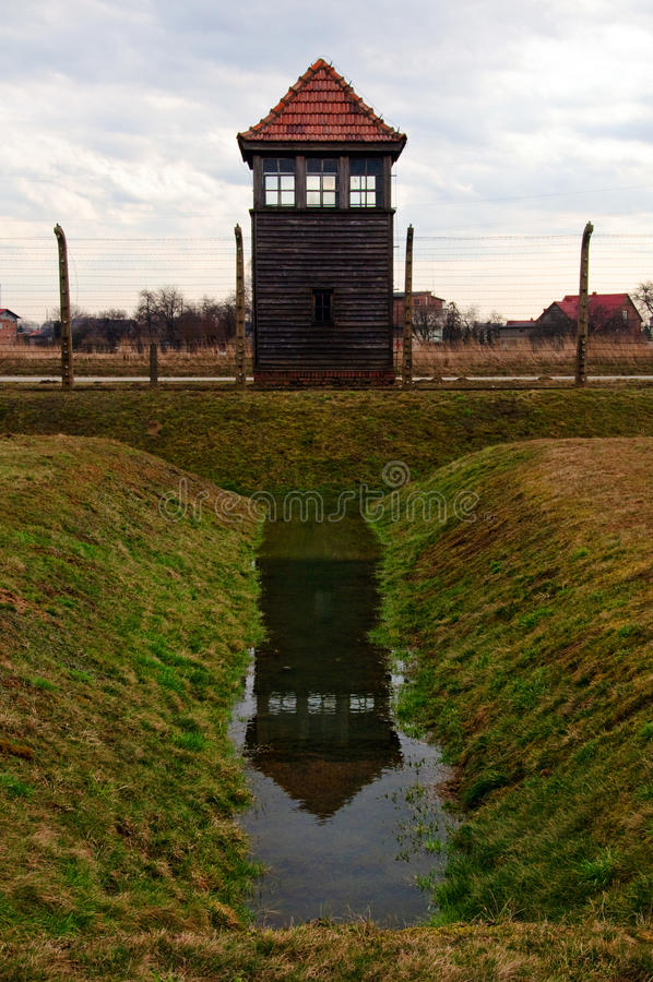 Concentration and extermination camps. Photo Nazi Germany's concentration and extermination camps stock photography