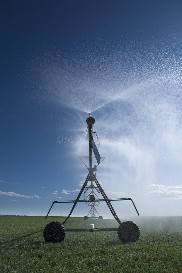 Concentri l'irrigazione 3 del perno immagini stock libere da diritti