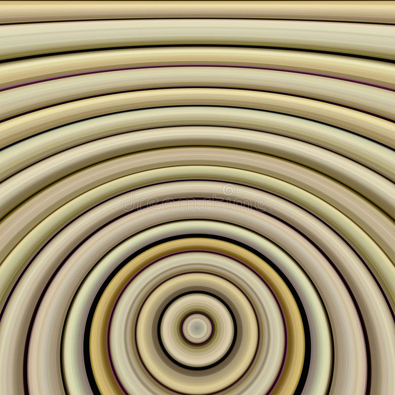 Concentric stylized Bamboo rings royalty free stock photography