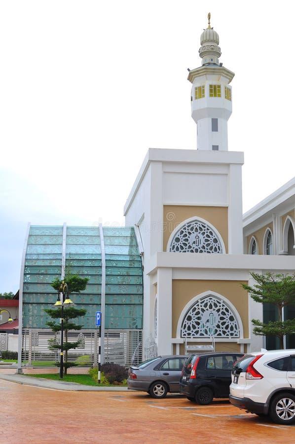Concepção arquitetónica Al-Umm de uma mesquita nova em Bandar Baru Bangi fotografia de stock