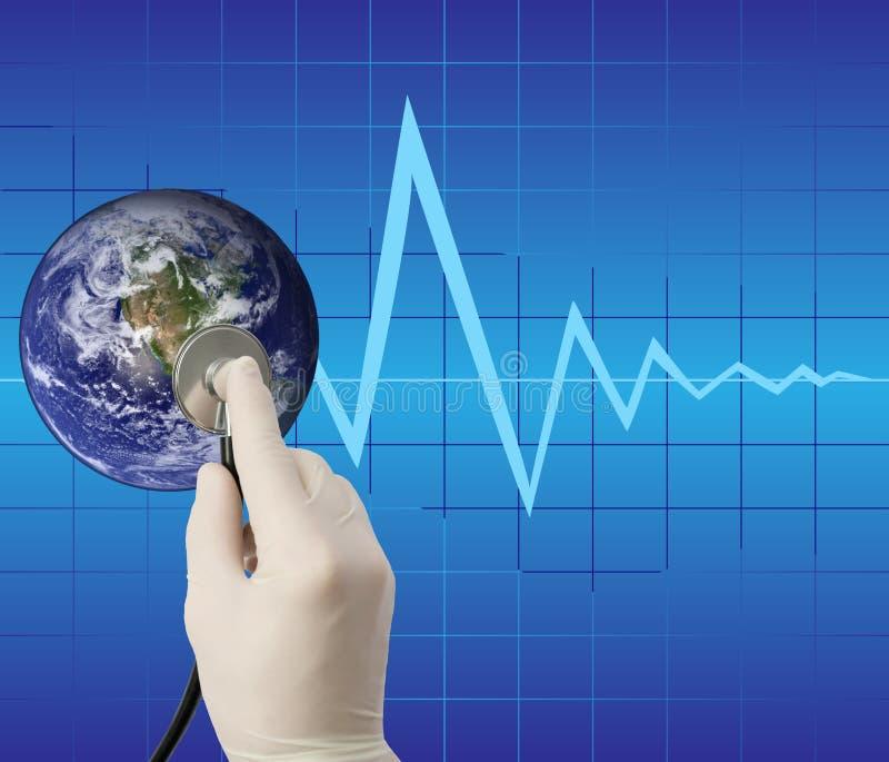 Concepção global. imagem de stock
