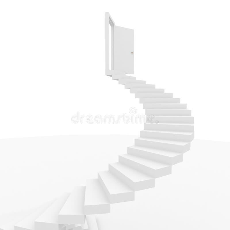 Concepções do sucesso ilustração royalty free