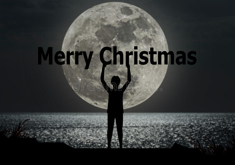 Concep 2017 de la Feliz Navidad y de la Feliz Año Nuevo fotografía de archivo