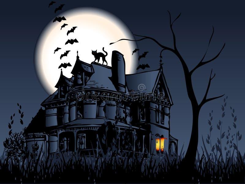 concepet halloween иллюстрация вектора