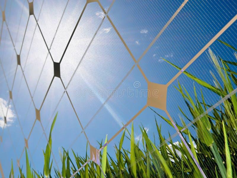 Concept à énergie solaire images stock