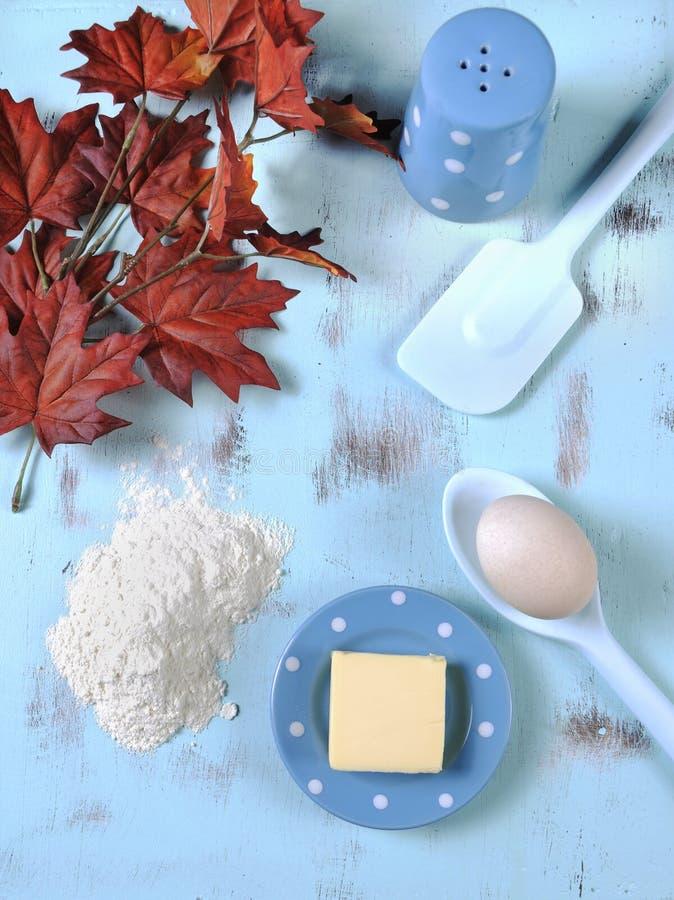 Concept à cuire et de cuisson de thanksgiving - verticale photo libre de droits