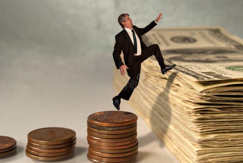 Concept économique et de marché boursier de réussite images stock