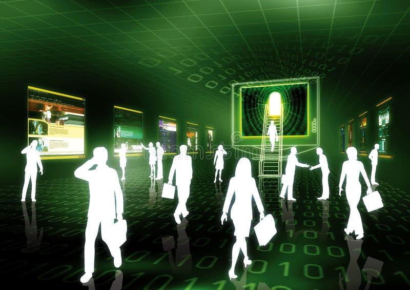 Concept 3 de commerce électronique photos libres de droits