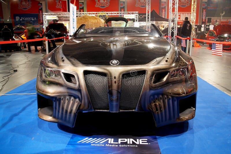 Concept 6 sinistre de BMW photo libre de droits