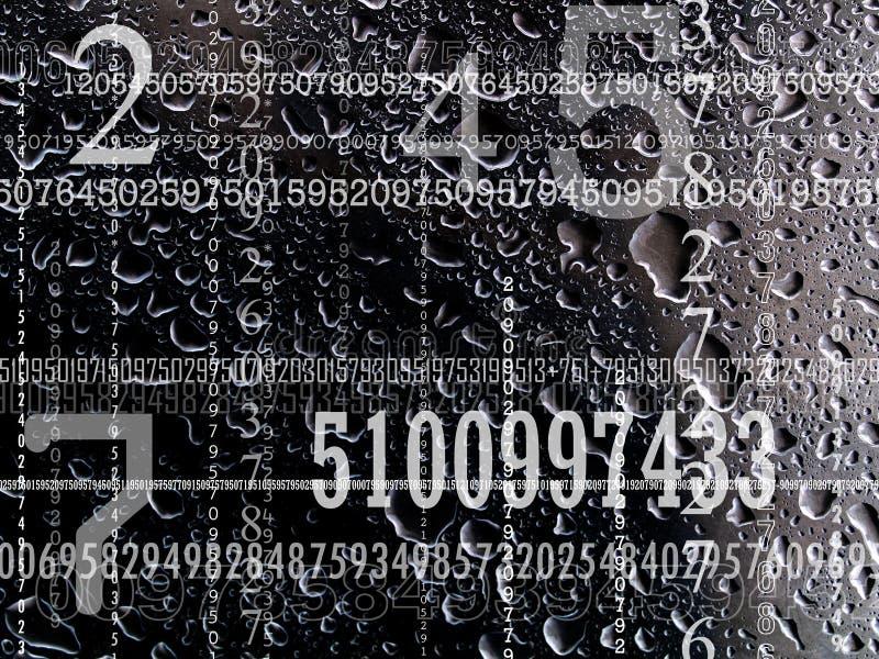 Concept aantallen stock foto