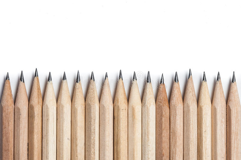 Concept abstract background from pencils with space for text or stock photography