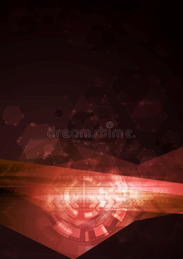Download Concept Abstract Hi-tech Vector Illustration Stock Vector - Image: 35356996