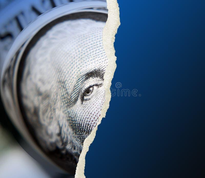 Concept américain du dollar illustration stock