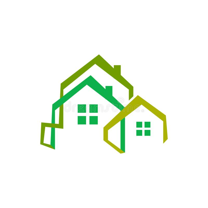 Free Concept And Idea Of Apartment House Realty Logo Design Vector Home Building Construction Architecture Symbol Royalty Free Stock Image - 158027876