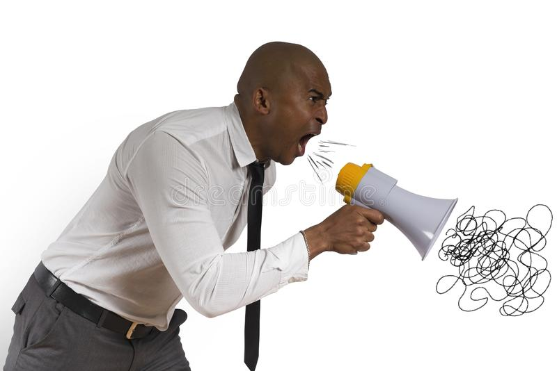 Download Angry businessman stock photo. Image of isolated, call - 30111078