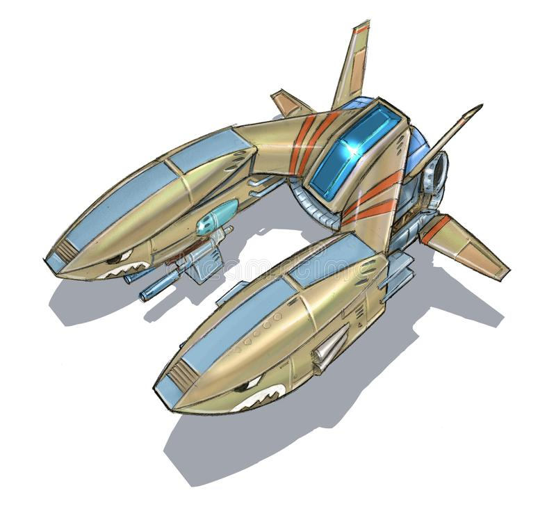 Science Fiction Aircraft Picture