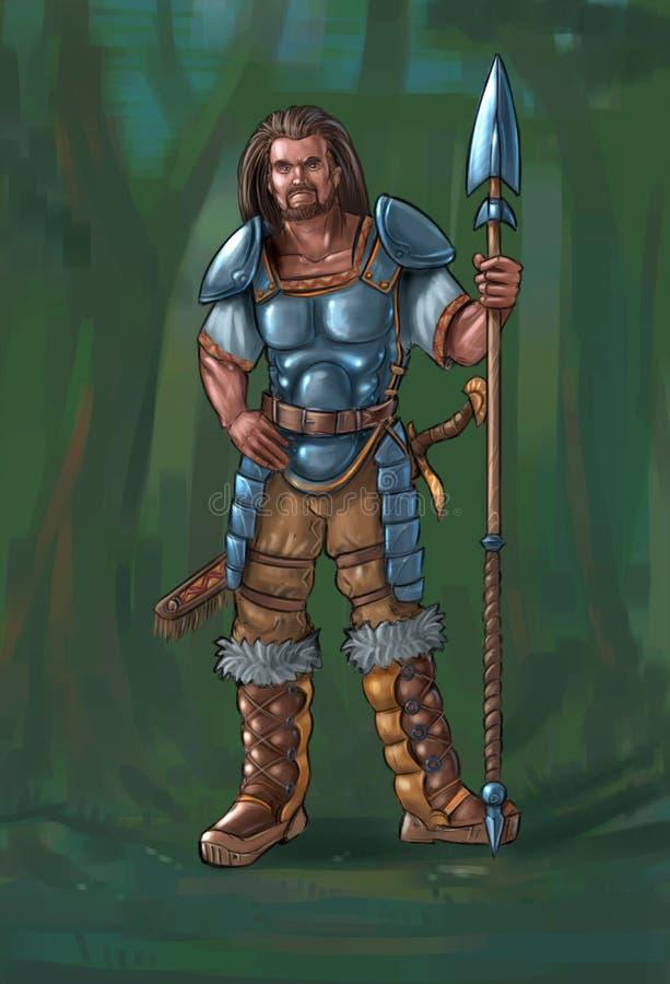 Fantasy Male Warrior Stock Illustrations 4 280 Fantasy