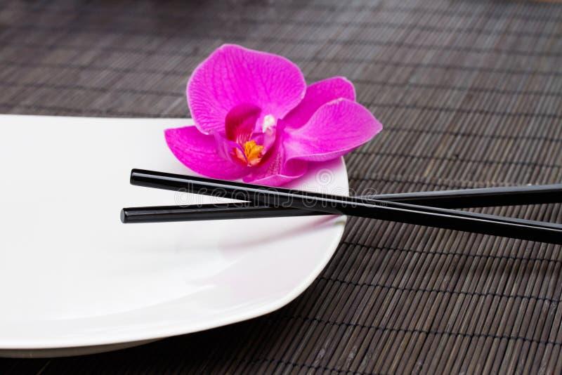 Concept asiatique de nourriture image libre de droits