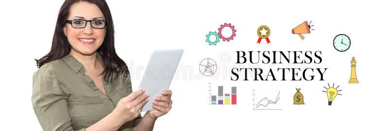 Concept bedrijfsstrategie royalty-vrije stock foto's