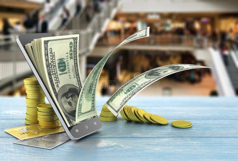Concept betaling stock illustratie