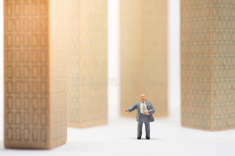 Concept of business career. royalty free stock images