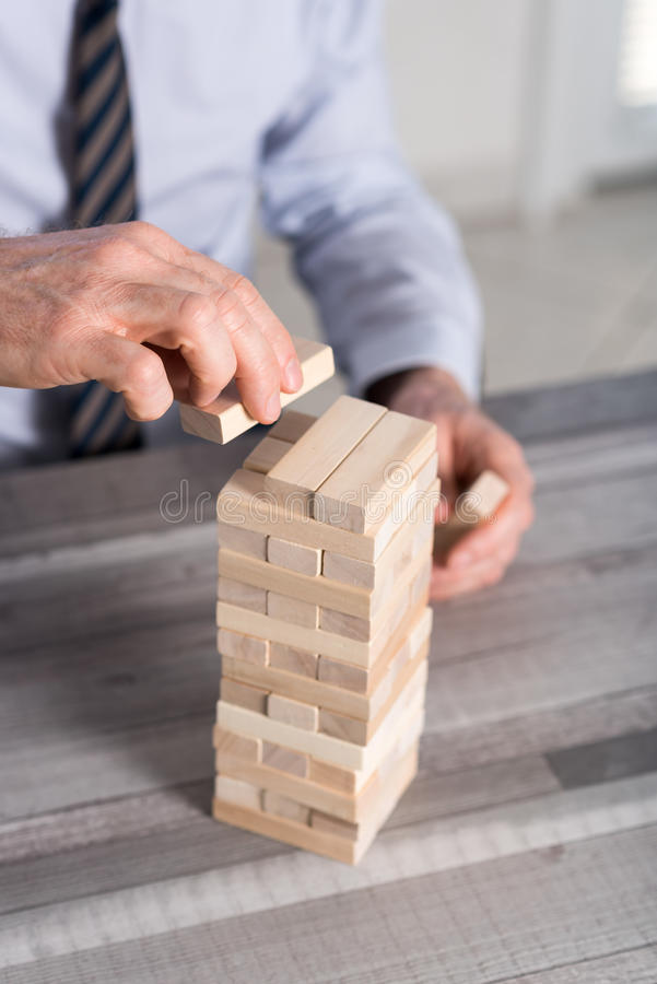 Concept of business development stock image