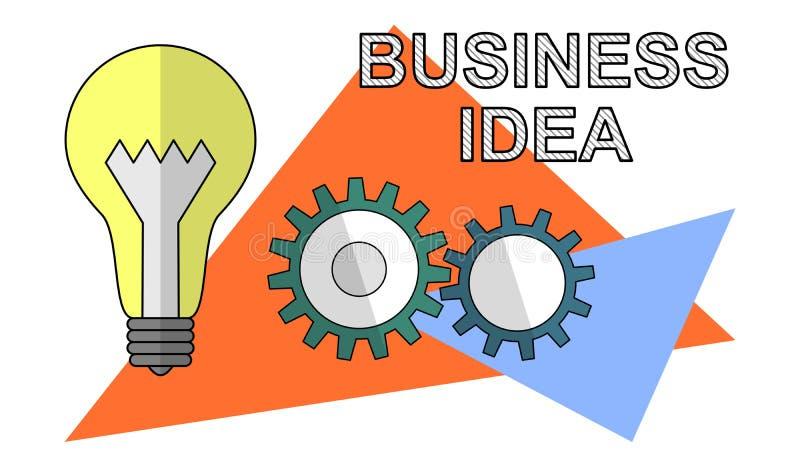 Concept of business idea vector illustration